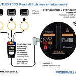 Probewell | How to | ST-3/FLEX2500: Read all 3 phases simultaneously